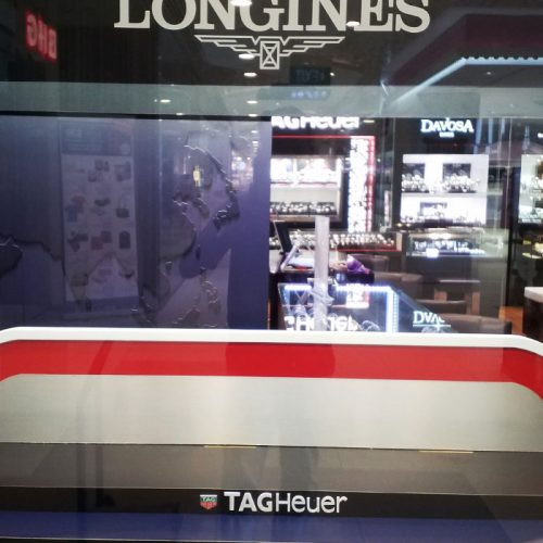 IDV Concepts Asia | TAG Heuer at All Watches, Bugis Junction
