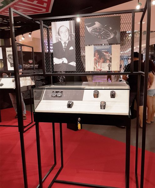 IDV Concepts Asia | TAG Heuer, Ion Orchard