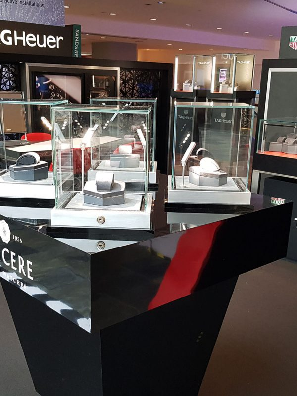 IDV Concepts Asia | TAG Heuer, Marina Bay Sands